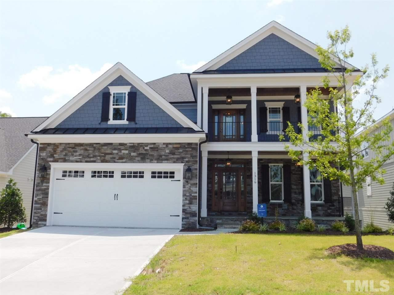 Stone Accented Custom Home w/Double Front Porches & Finished Basement! Coffered Fam Rm w/Double Sided FP to Scrn Porch! Gourmet Kit w/ SS Appls, & Quartz! Coffered Din Rm w/Tall Paneling! 1st Flr Master w/Accent Wall & Impressive Bath! Loft/Bonus, 2 Bdrms w/Bths, Pocket Office, & Semi Finished Storage on 2nd! Huge Great Rm & 4th Bdrm w/Bth in Basement! Tons of Storage! Tons! Tankless H2O! Intercom, Speaker & Security Pre Wire! Elevator Shaft! Extensive Trim Package! Hardwood Flrs! Large Level Backyard!