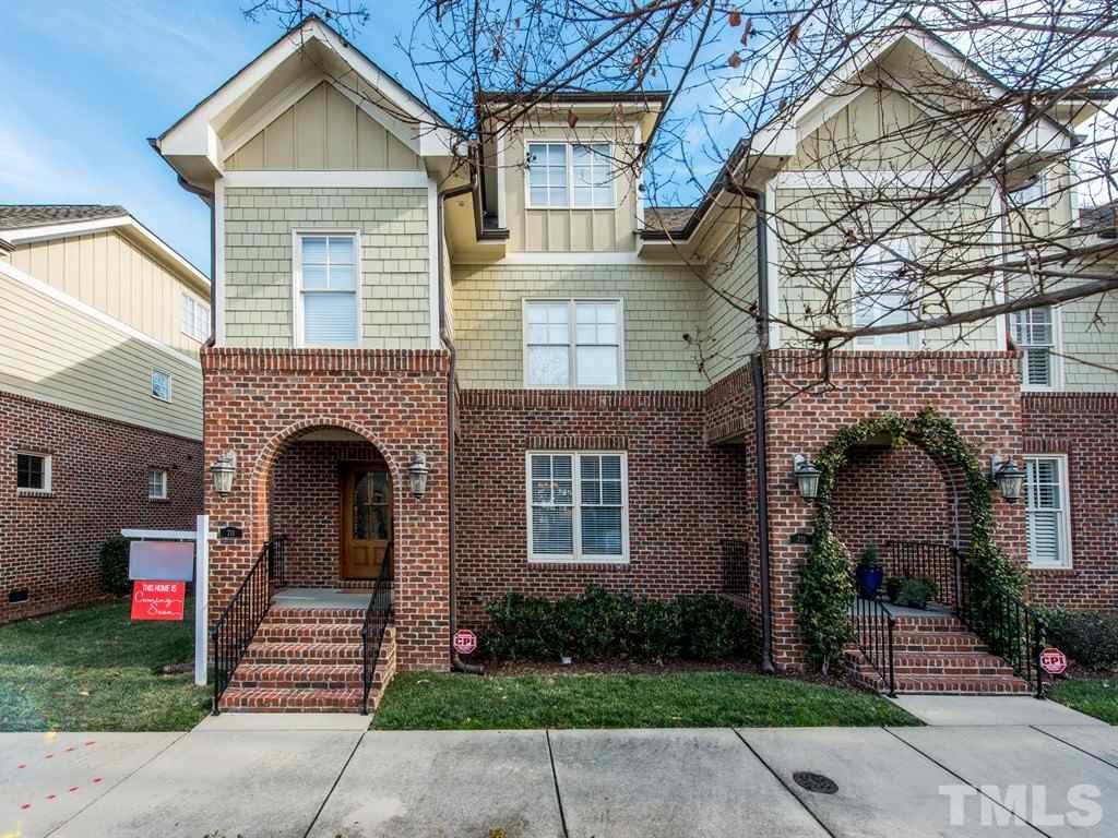 "Be right in the mix with all the good things DTR! Walkable to Seaboard/Person & Fayetteville St. Boutique style community nestled within Mordecai. Site finished hardwood floors, heavy trim, screen porch etc! Family room with fireplace opens to dining room/flex space, which flows to gourmet kitchen with large working island! Granite counters, 42"" cabinets & stainless appliances! Master suite with generous soaking tub & nice walk in shower! Third floor boasts walk in storage - easily finishable!"