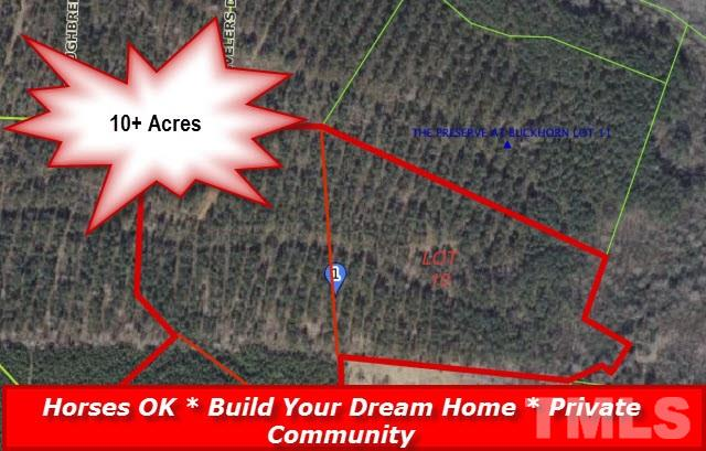 Property for sale at 00 Arabian Drive, Middlesex,  NC 27557