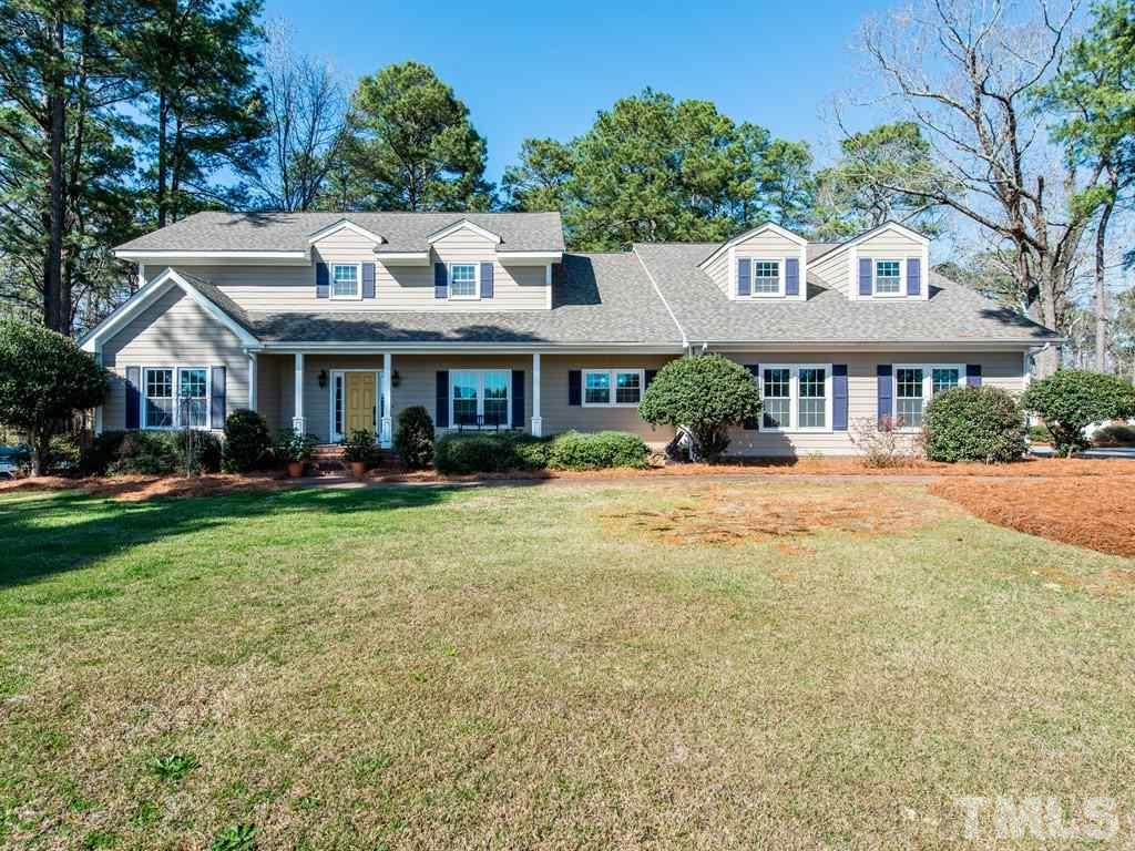 Gorgeous CUSTOM home sitting on a picturesque fenced lot! If there is an upgrade to name it is under this roof (including the roof!). Fresh paint & new carpet make this virtually move in ready! So many neat features down to the dental moulding in the formal oversized dining room! Gourmet kitchen completely gutted & remodeled. Been pining for that craft room? Multi use room right off the mud room! GIGANTIC bonus + all secondary bedrooms upstairs, one with en suite bath! Main floor master with private deck!