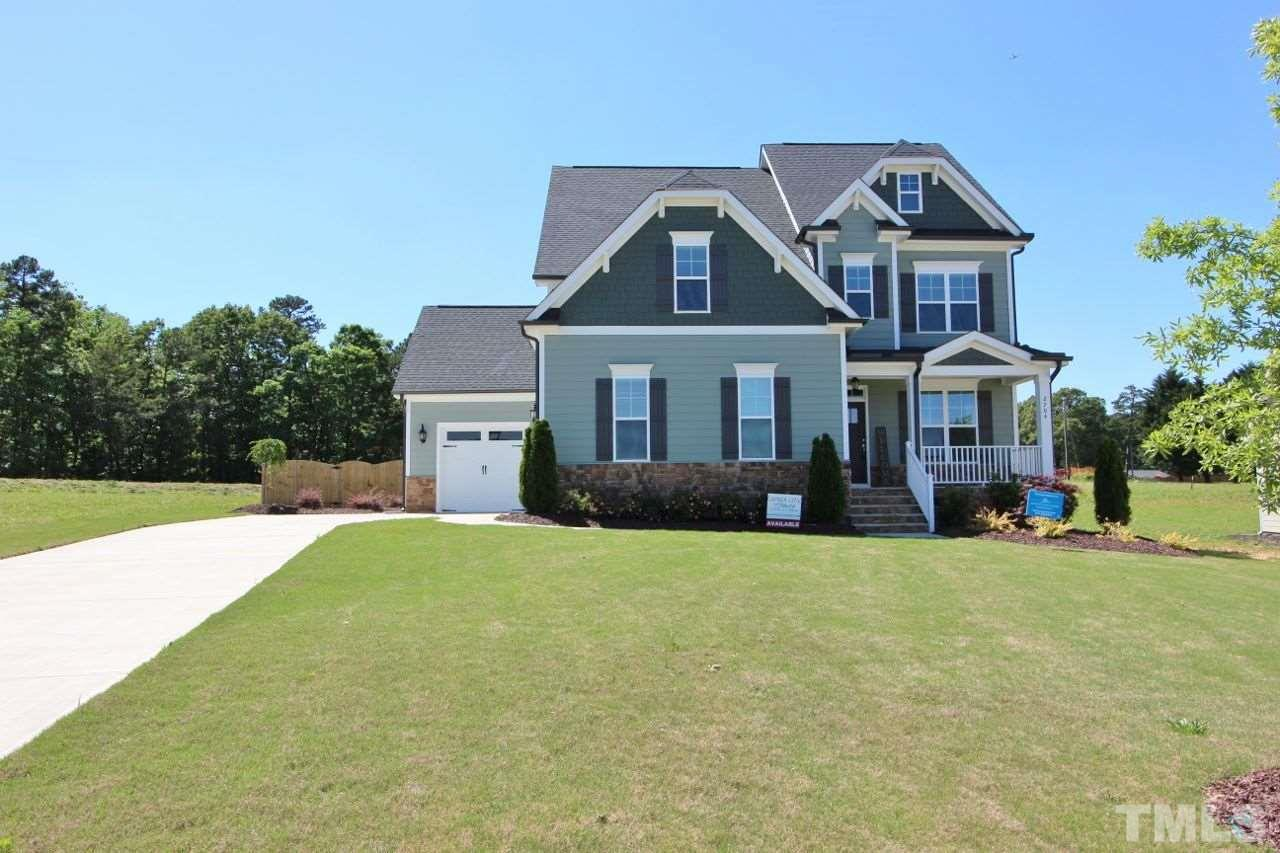 2704 Oxford Bluff Drive, Oxford Hills, Wake Forest NC (Homesite 5) - $450,000