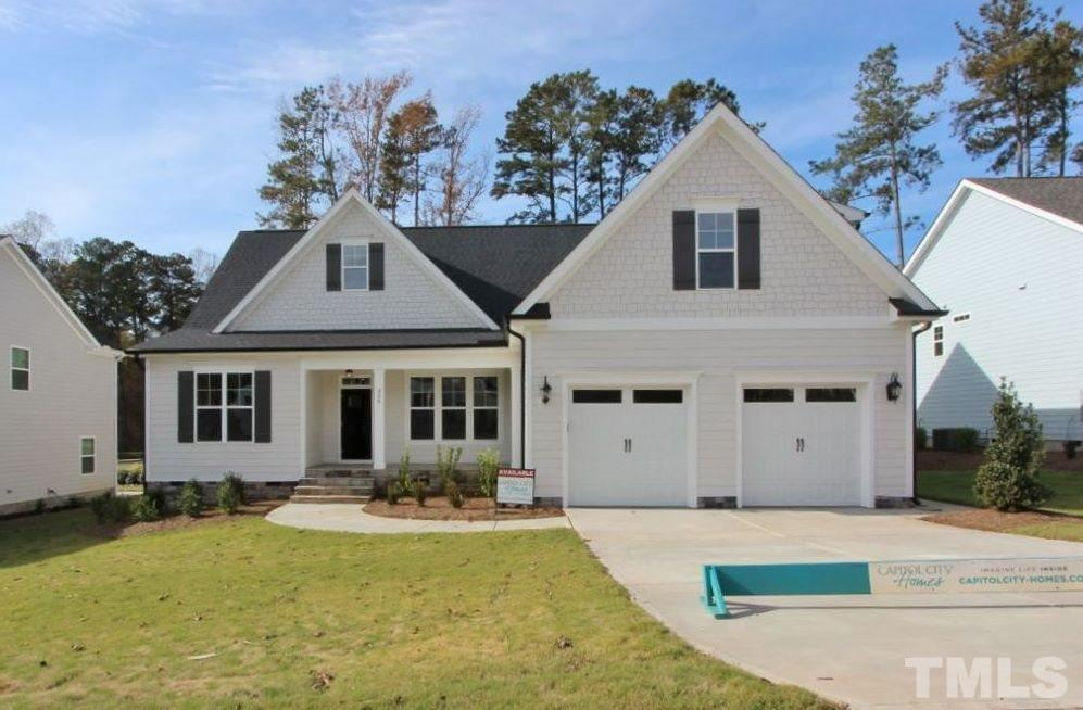200 Park Bluff Drive, Logans Manor, Holly Springs NC (Homesite 30) - $425,000
