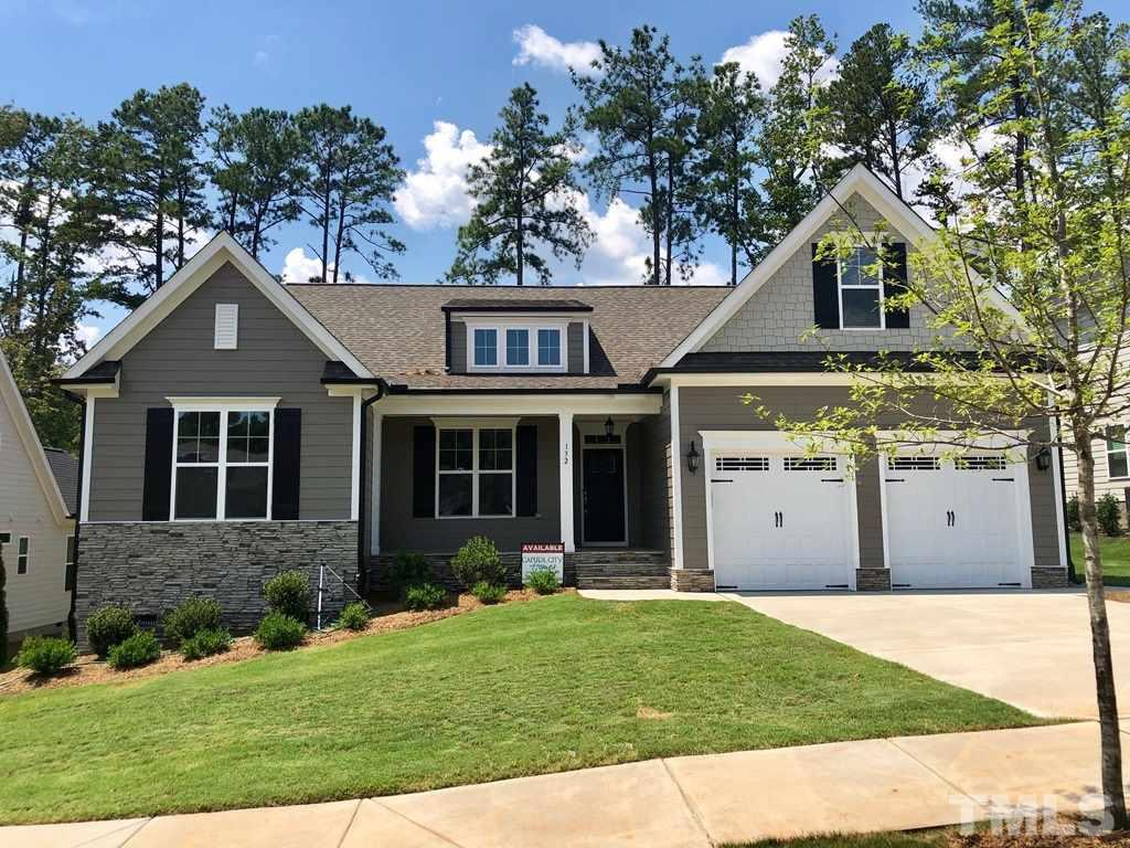 132 Park Bluff Drive, Logans Manor, Holly Springs NC (Homesite 29) - $419,900