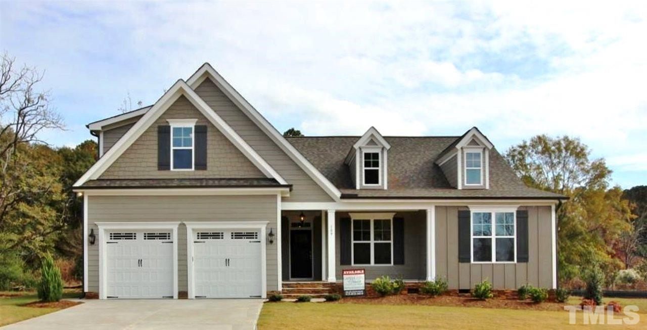 109 Logans Manor Drive, Logans Manor, Holly Springs NC (Homesite 48) - $400,000