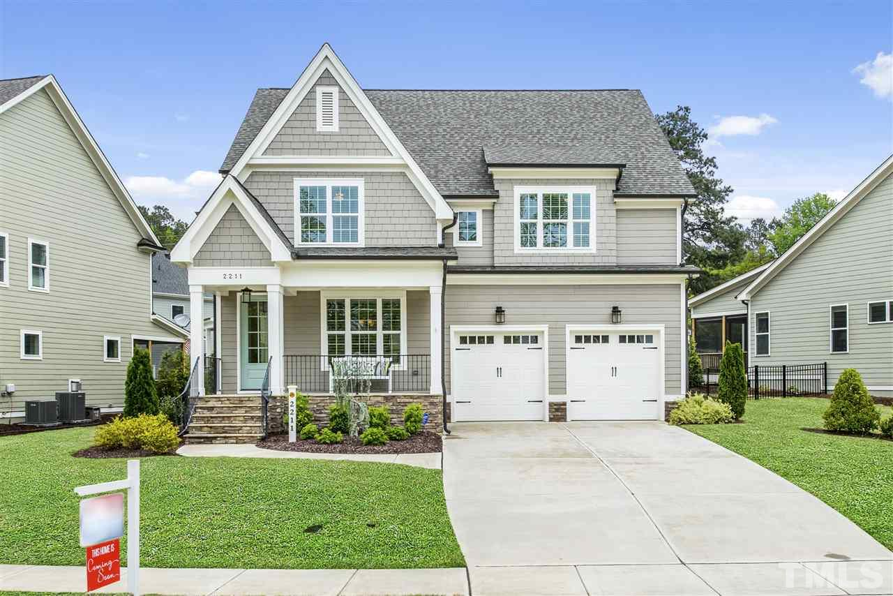 A timeless essence in this former Homes by Dickerson Parade Home! Classic but trendy design with all the things you love - open concept, energy efficient living & the right dash of outdoor living (screen porch & patio)! Main floor guest suite + 3rd floor bedroom suite & walk in storage! Gourmet kitchen with quartz counters, large working island, stainless appliances with dual fuel range & more! Upstairs enjoy your master suite with trey ceiling, soaking tub, granite counter, large walk in shower & closet!