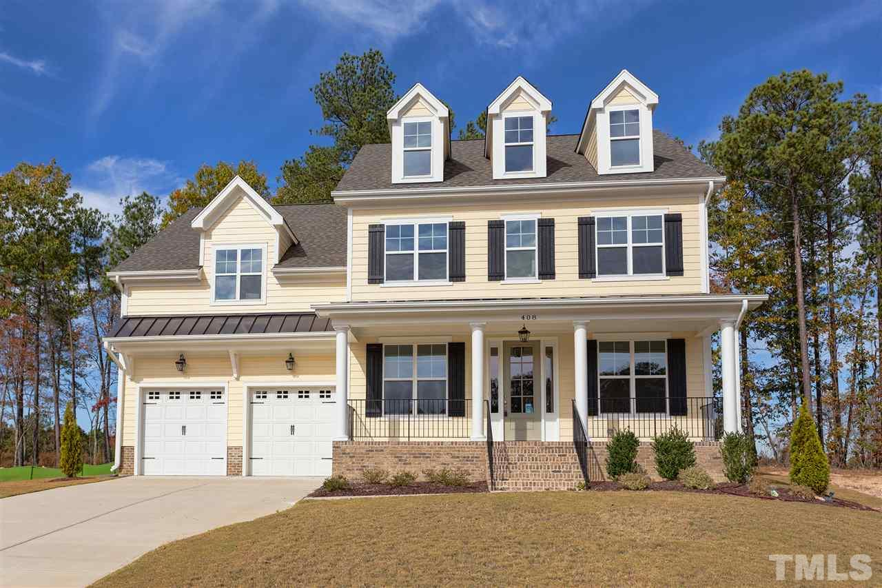 408 Barrington Hall Drive, Barrington, Rolesville NC (Homesite 15) - $415,000