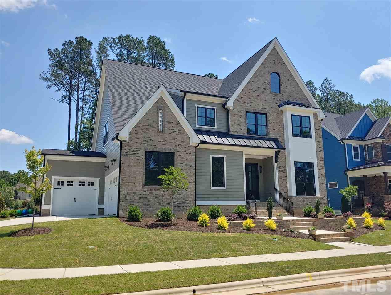 "Brick Accented Custom Home w/1st Flr Master & 3 Car Garage! Study w/French Drs! Formal Dining w/Impressive Butler Pantry! Fam Rm w/Builtins & FP! Lrg Back Porch w/Huge Sliding Drs! Gourmet Kit w/Jenn-Air SS Appls, 2 Ovens, 48"" Builtin Frig,  Quartz Tops, Cabinets to Ceiling, & Lrg Pantry! 16x17 Master w/Free Standing Tub! Laundry Access from Master Closet! Hardwds on 1st! 4 Bdrms & Bonus Up w/Lrg WICs & Baths! Wet Bar & Hardwds in Bonus Rm! 3 Storage Rms! Tankless H2O! Sec. Pre Wire! Relaxing Patio! Wow!"