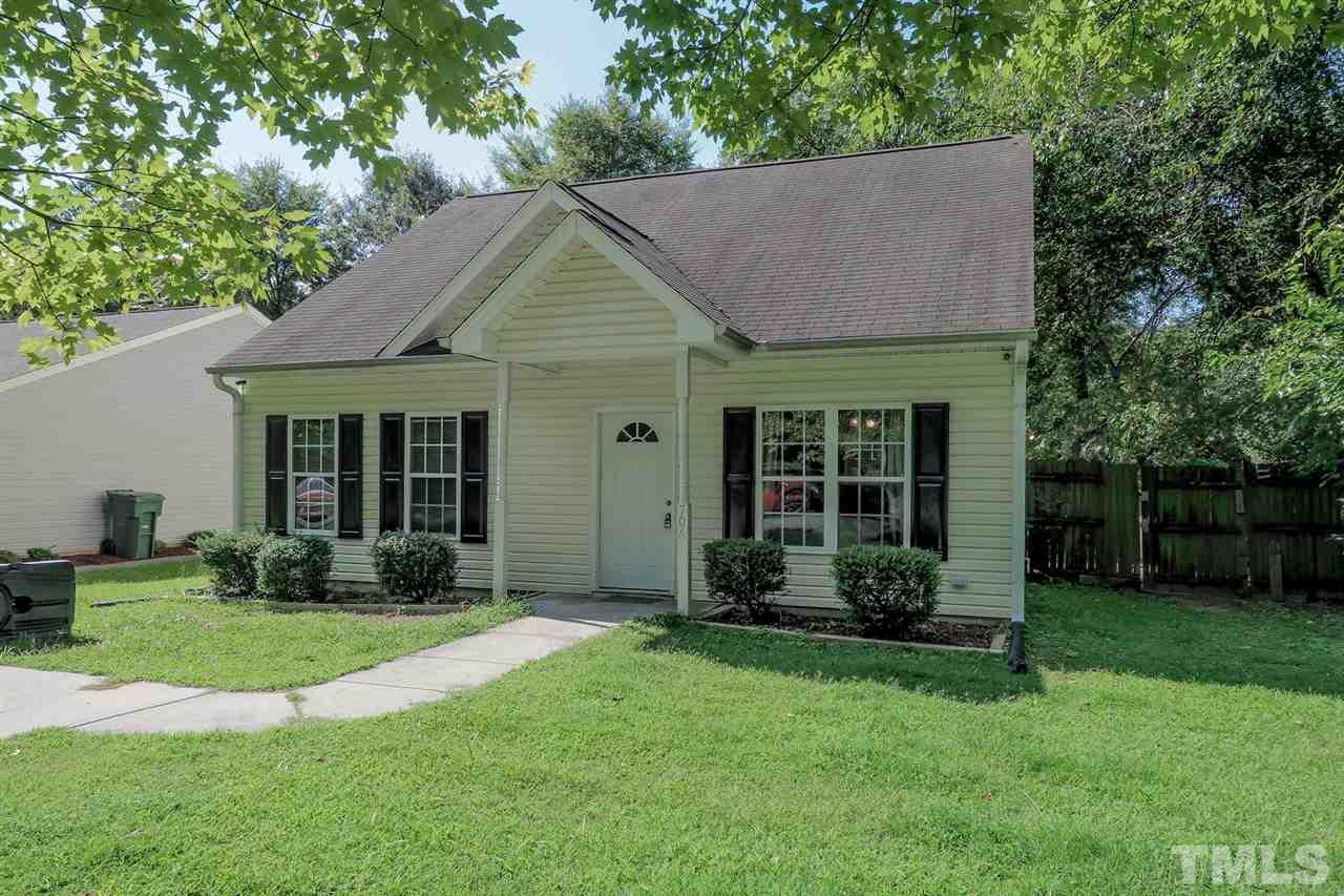Image of classic bungalow-type home in Duke Park, Durham, NC