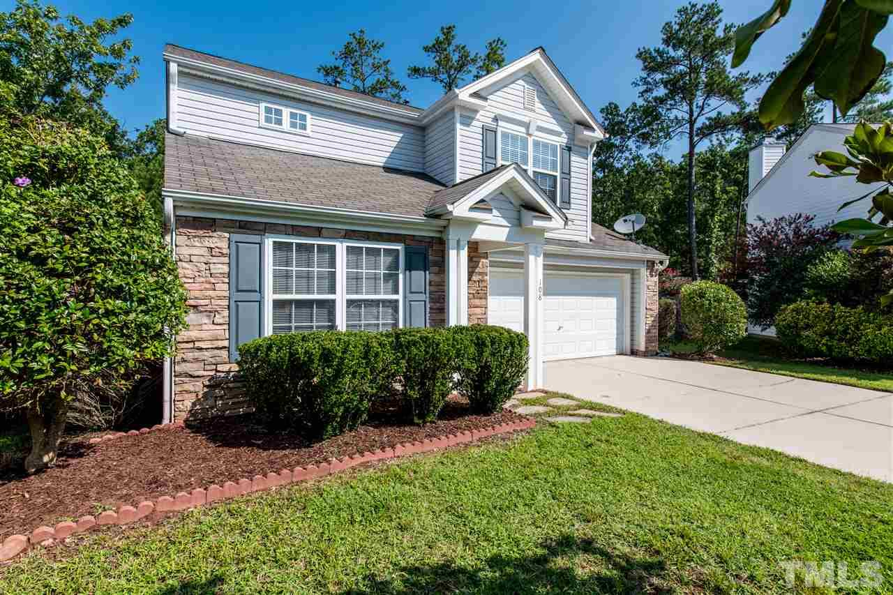 108 TIVERTON WOODS DRIVE, HOLLY SPRINGS, NC 27540  Photo