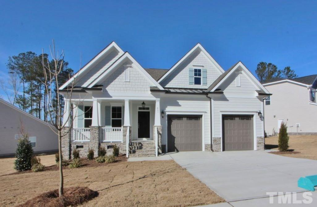 461 Cedar Pond Court, Glenmere, Knightdale NC (Homesite 194) - $359,900