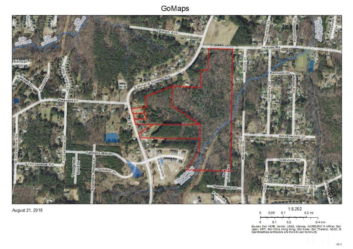 Property for sale at 1023 S Mineral Springs Road, Durham,  NC 27703