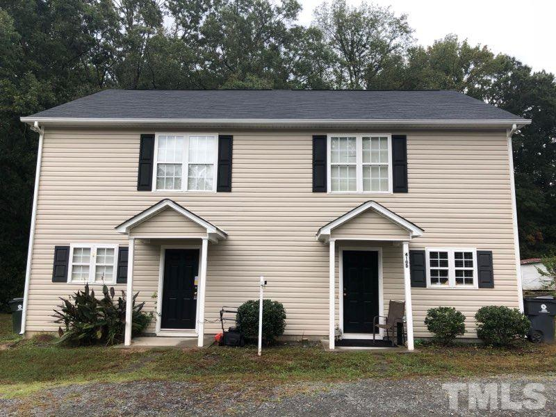 Property for sale at 410 W Hillsboro Street Unit C & D, Creedmoor,  NC 27522