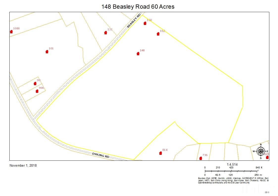Property for sale at 148 Beasley Road, Louisburg,  NC 27549