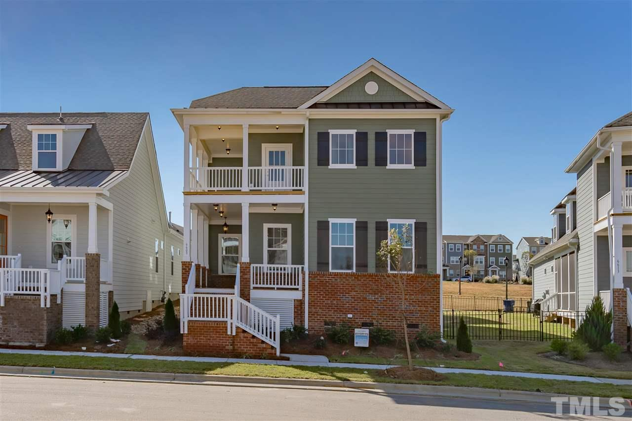 Rodanthe plan with a lot of living space, great for family and entertaining.  master planned neighborhood with elementary and middle schools, Wake Tech, Neuse River Trail, walking trials, 25 acre City Park, community garden, retail, shops.  A must see home and neighborhood!