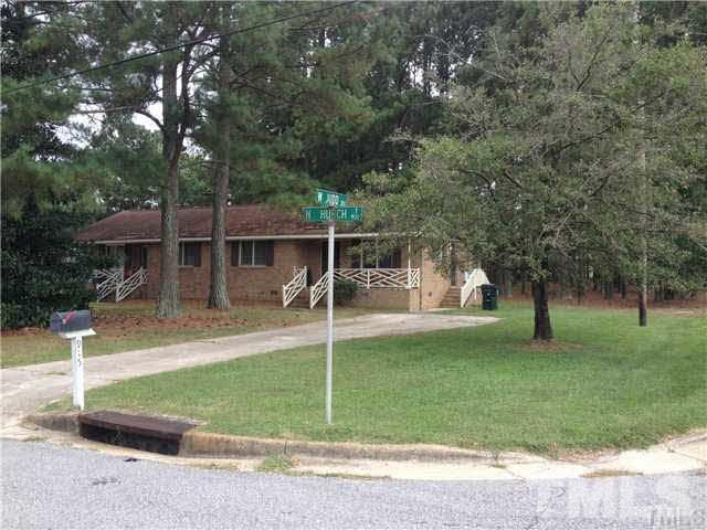 Property for sale at 913 N Church Street Unit 1 & 2, Zebulon,  NC 27597