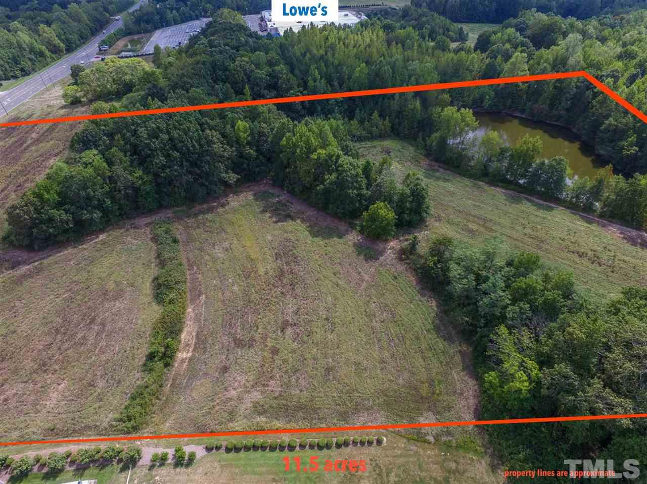 Property for sale at 11.5 acres Durham Road, Roxboro,  NC
