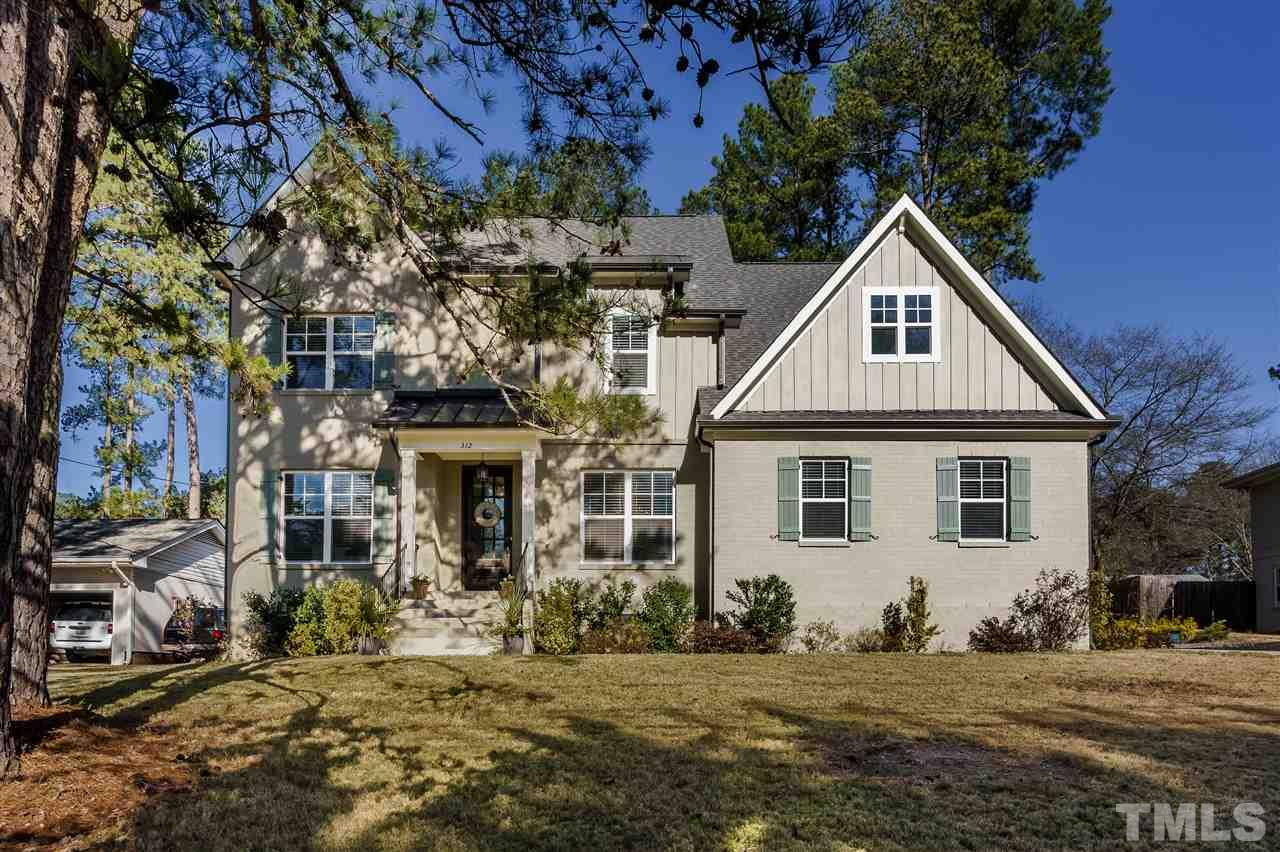 Location, location! 2 blocks to North Hills, 3 blocks to Brooks/NH Club! Nearly new (2017), great schools. Open floor plan, 1st Floor guest suite. 5BR, 4 Full Baths. Screen Porch, Patio, Fenced Yard! Quartz Counters! Designer fixtures. Extensive custom trim package. 6 burner Gas Cooktop, Dbl oven for the Gourmet! Butler's Pantry. Sealed Crawl Space & Tankless H2O heater. Built-in-garage storage. Smart home features: GE Cafe appl., Google Fiber, wired networking, Alexa thermostats! LED lighting throughout.