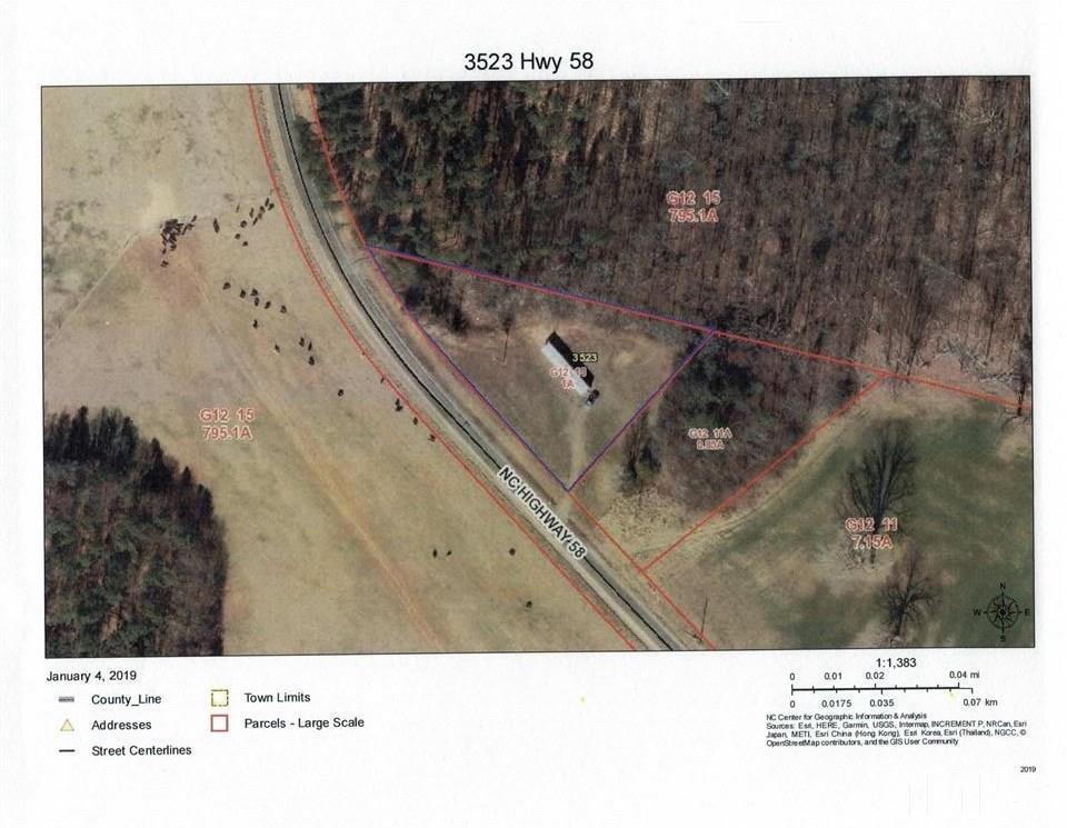 Property for sale at 3523 NC 58, Warrenton,  NC 27589