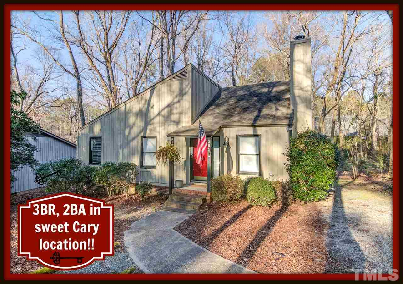 304 TWO CREEKS ROAD, CARY, NC 27511