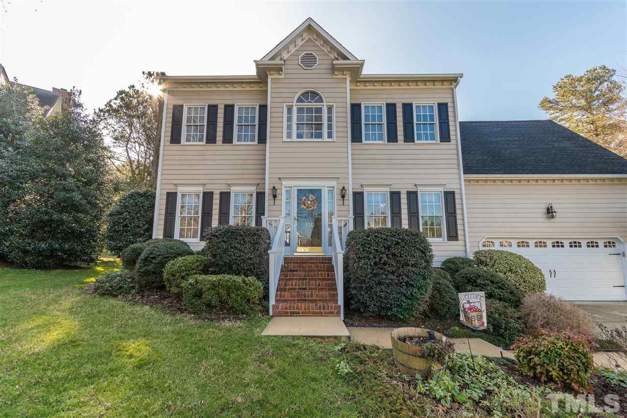 110 CANTERSTONE COURT, CARY, NC 27518