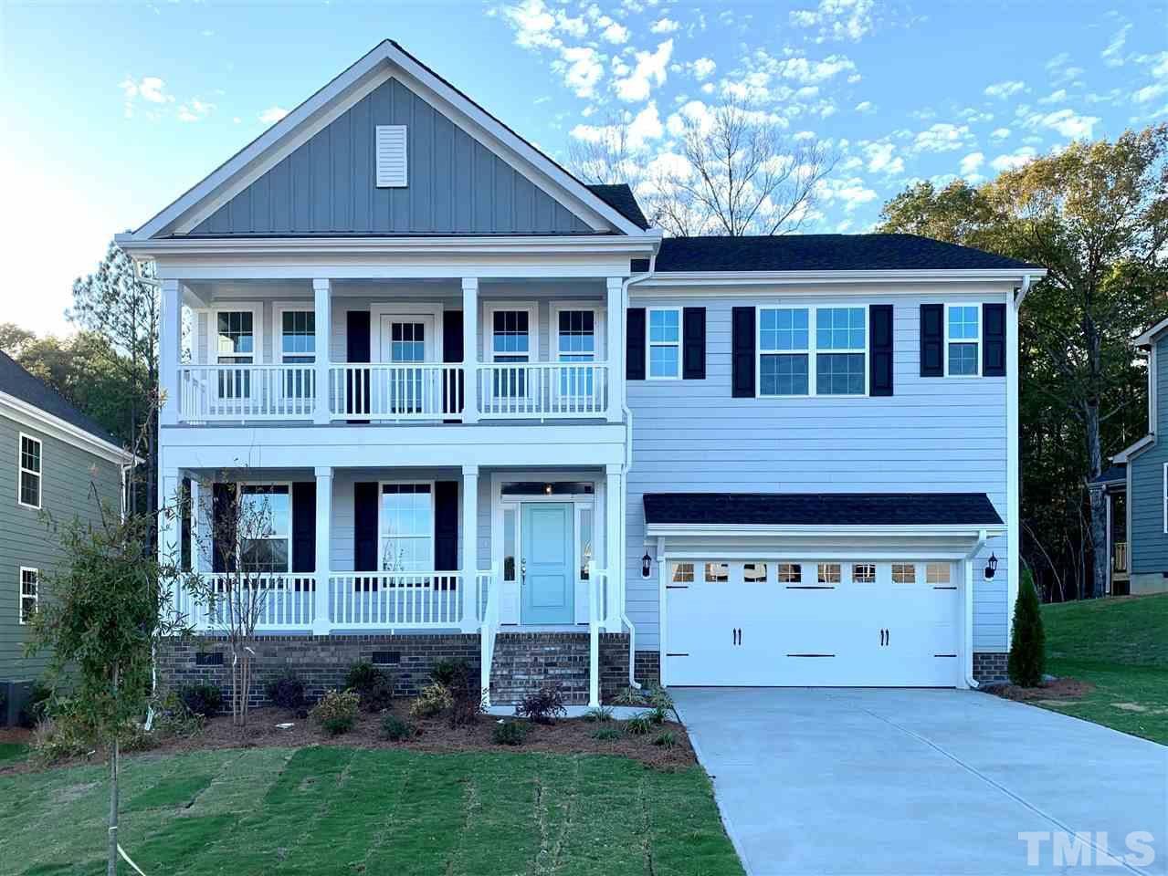 Price of home will adjust once design upgrades are added to home. Just in time to customize!  Home has a lovely souther charm feel with the double front porch! 50 Home sites plus great builder incentives!