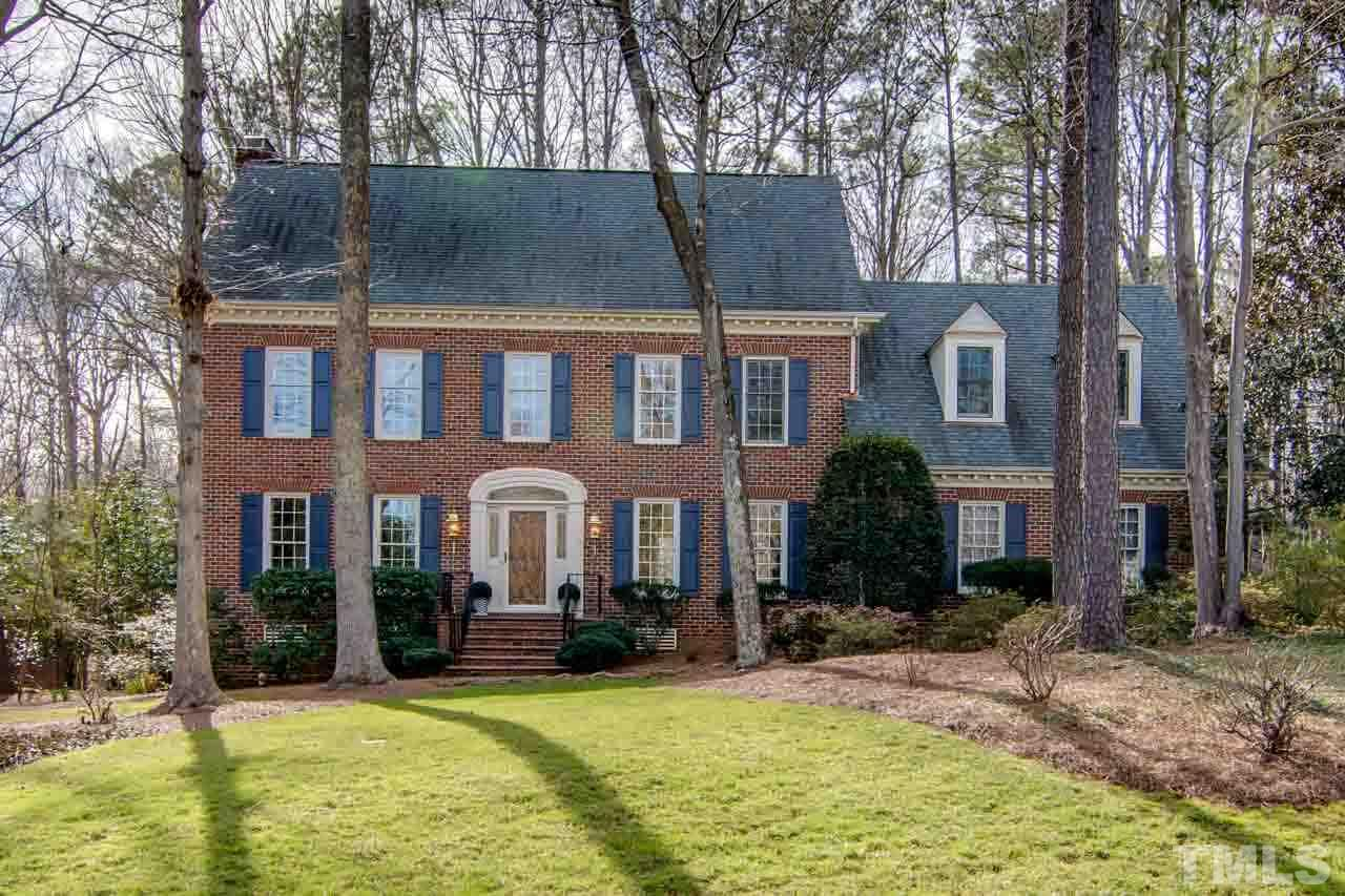 BACK ON MARKET: Beautiful 4 bdrm traditional with GORGEOUS fully remodeled/expanded gourmet kitchen – all the bells & whistles -- that opens to a spacious, bright family room with doors to the deck & large sunroom. Huge master suite w/hardwood floors offers seasonal lake views. 1st floor guest suite w/full bath; large bonus room on 2nd floor; finished 3rd floor. LOCHMERE: pools, tennis, clubhouse, lakes, golf, playgrounds & trails. Walk to coffee shop, restaurants, Whole Foods. GREAT LOCATION!