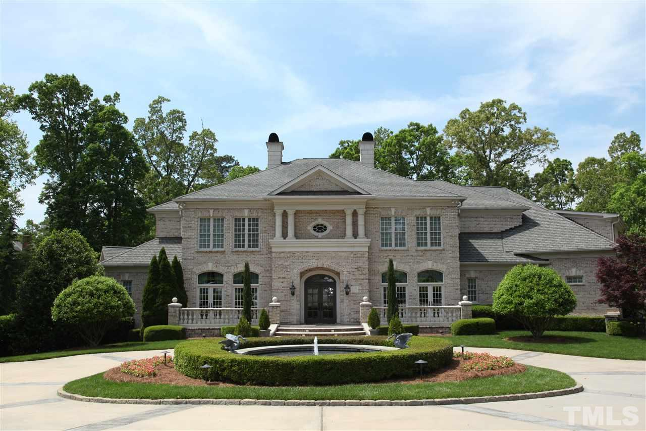 Rare opportunity to have the lifestyle you want, where you want it!  Impressive estate; secluded Barrington Park/Regency.  Masterfully situated on 1.78-acres, Cntry French Manor w/ amazing indoor & outdoor space --- nothing else like it on the market! Elegant living w/ custom millwork, materials, details; some rooms virtually staged. 6 frplcs, sauna/steam shwr, 2 laundries, fitness, billiards, media, indoor sprt court. Easy commutes to med facilities, shopping, recreation, restaurants, trails and airport.