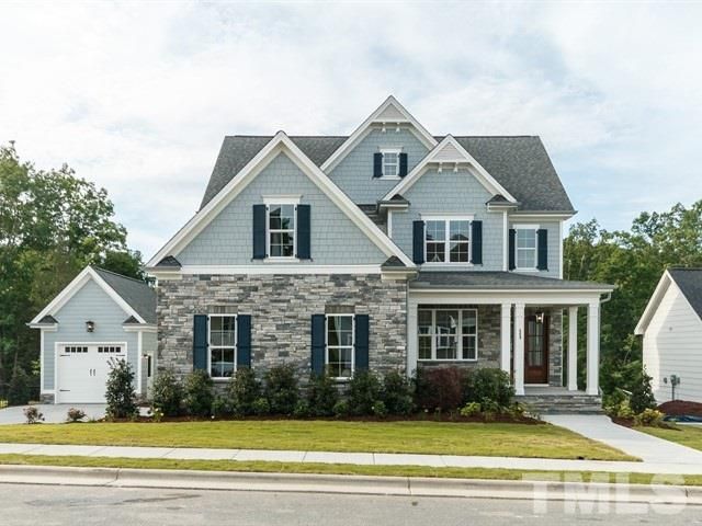 "Ready in May: this custom ""Chamborde"" green-certified home by locally-owned Homes By Dickerson is located on expansive homesite in Briar Chapel w/ low traffic. 1st floor features open kitchen, walk-in pantry, keeping room, dining/study, guest bedroom, planning center, screened porch & grill deck. Master suite w/ wardrobe, 3 bedrooms, 2 baths & bonus room upstairs. Unfinished 3rd floor & 3-car (or golf cart!) garage provide ample storage. Resort-style living w/ trails, sport courts, pools & more!"