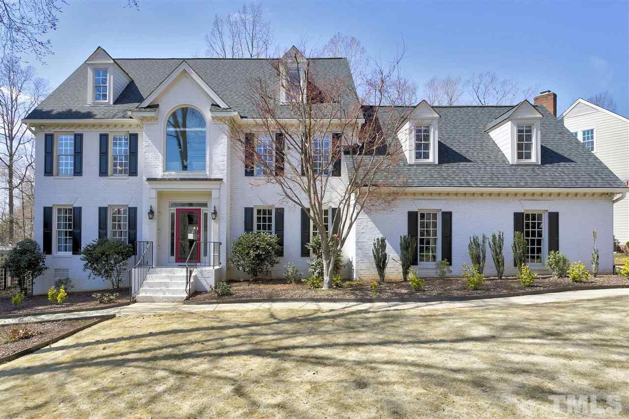 "Custom Built 4 BR & 3.5 Bath LOCHMERE HOME. Tremendous floor plan includes a Chef's Kitchen w/Custom Cabinets & Granite. Formal Dining Room & Screened in Porch overlooking an In-Ground Pool & beautifully Landscaped Yard. Wonderful for entertaining or family time! Hardwoods on 1st Floor & Fresh Paint throughout. 3rd Floor BR has as its own private bath. Oversized side load Garage w/its own HVAC unit makes a great ""work space'.  Lochmere offers miles of Walking Paths, Swim & Tennis & 3 lakes. Welcome home!"