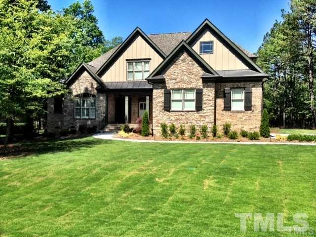Gorgeous custom home in desirable Colvard Farms community. Enjoy the convenience of being only minutes away from SouthPoint Mall, I-40, RDU, and RTP. The gourmet kitchen is a true Chef's delight. Hard to find 1st floor master, 2 fireplaces, and 3 car garage. Run, bike, or walk on the beautiful nature trail located right in the community! Unbelievable amenities include a pool, clubhouse, hot tub, kiddie pool,  tennis, fitness center, and children's playground. Don't miss out on this gem!