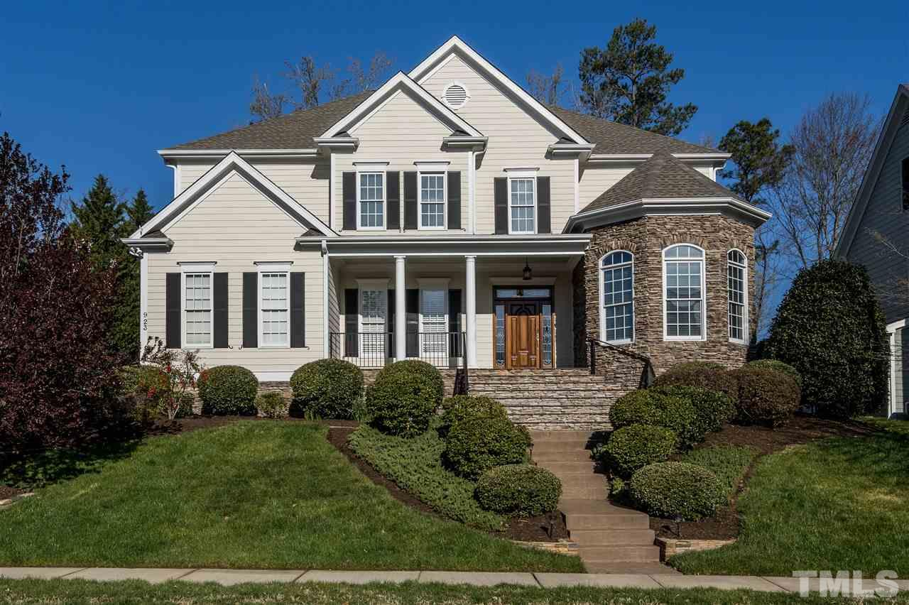 Stunning Custom Home in popular Cary Park! Original owners built this home with award winning builder Dennis Rice; Sellers handpicked this large, wooded, flat, deep lot for future pool; Over the top moulding throughout; Freshly painted; New carpet; Open floor plan; Chef's kitchen, including double oven, large pantry & island, gas cooktop; 5 large bedrms plus bonus; First floor guest suite; Great closets and storage; oversized screened porch; unfin 3rd floor; Roof 2018; HVAC 2016/2013; 3 car gar!