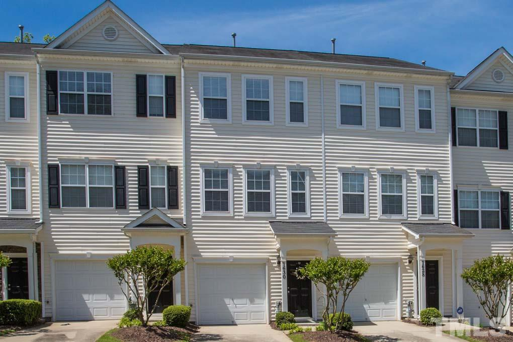 Located minutes from all downtown Durham has to offer and just a short drive to Southpoint Mall, this spacious townhome is truly an exceptional value. Featuring open plan living on the main level, two bright bedrooms with en suite baths as well as a one car garage. Large Kitchen with a center island perfect for cooking and entertaining. The lower level bonus room is large enough to use as an office and an additional recreational space. New A/C in 2015.