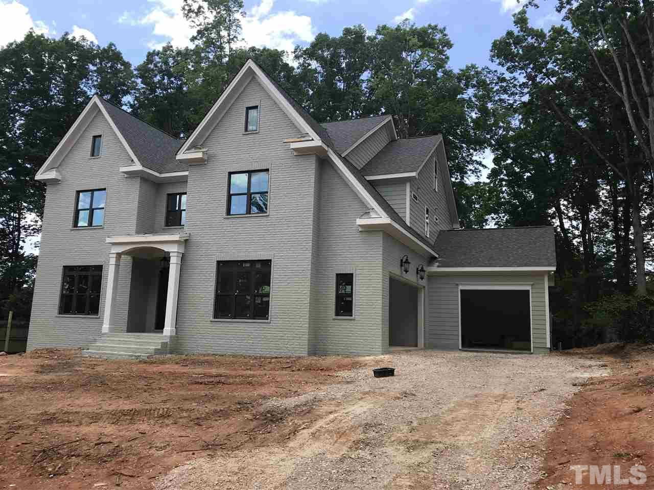 Wonderful New Construction walking distance to North Hills shopping and restaurants.  Open kitchen family room with formal dining room and guest bedroom +full bathroom. Screen porch with fireplace overlooking private yard. 10' ceilings 1st floor 9' 2nd floor.  3 car garage, 3 bedroom, 3 full bathrooms + large bonus room. 3rd floor is finished into additional bonus room with a full bathroom.