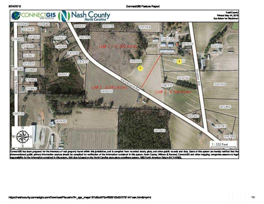 Property for sale at 0 Strickland Road, Bailey,  North Carolina 27807