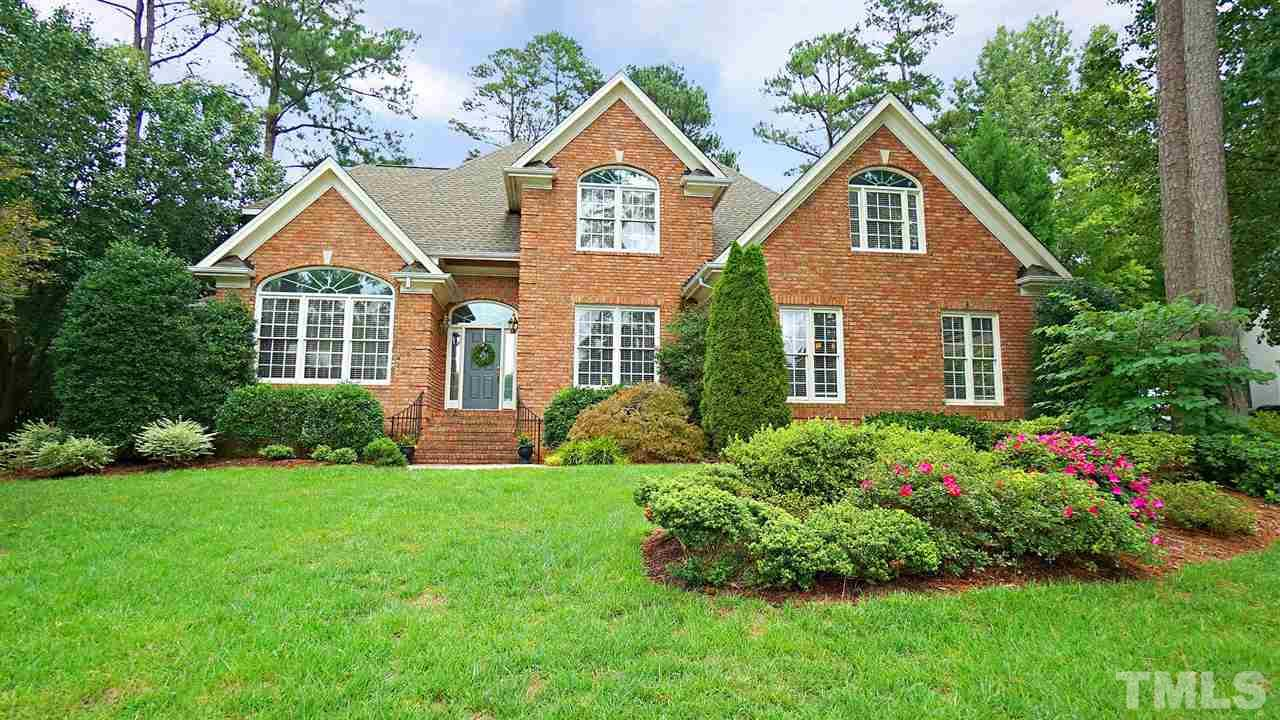 PRESTON GRANDE! One owner,All Brick Home! CUSTOM BUILT and well maintained w/ hardwoods throughout first floor. Hard to find FIRST FLOOR master suite and STUDY!Tons of windows allow natural light to come in. Open kitchen w/ spacious breakfast nook. Stately presence w/ side load, 2 car gar.Private, corner lot with mature landscaping, huge deck and quaint patio area for bird watching! 2 Generous Bedrooms up w/ Full bath and Bonus Room/4th BR.   Newer Roof,New HVAC, New HWH. Conditioned Crawl and Irrigation