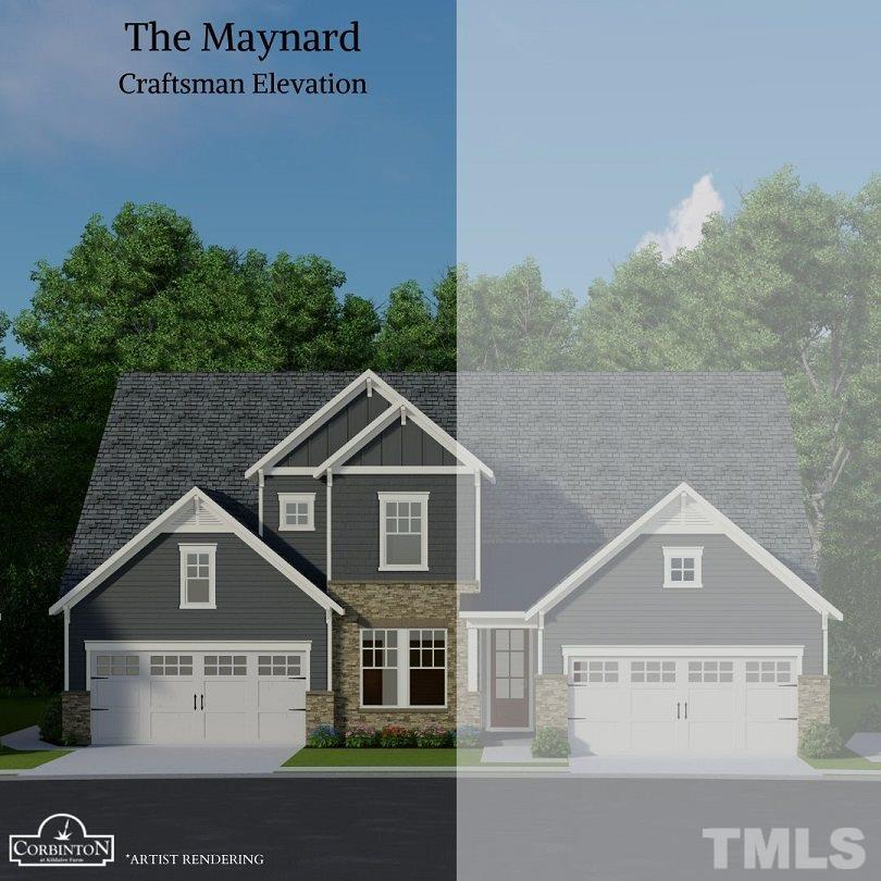 Rendering or tour is not an image of the actual home and is provided for illustration purposes.  May show options available at additional cost.