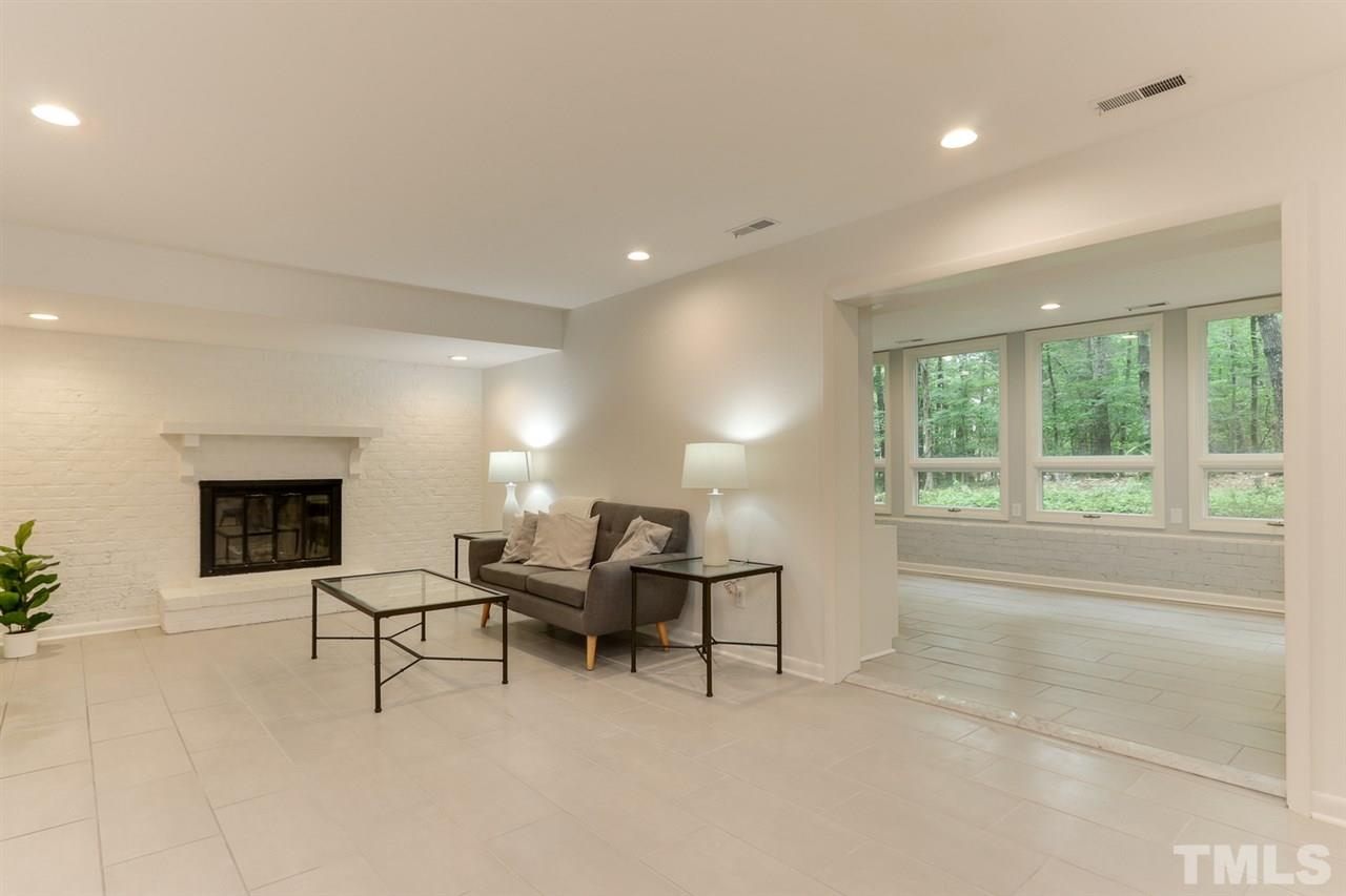 Family room and sun room