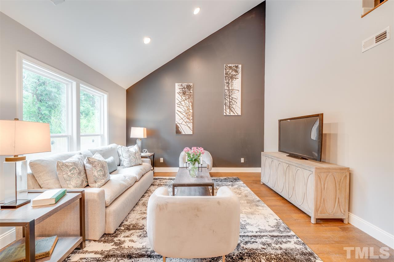 Comfortable spaces, with home angles highlighted