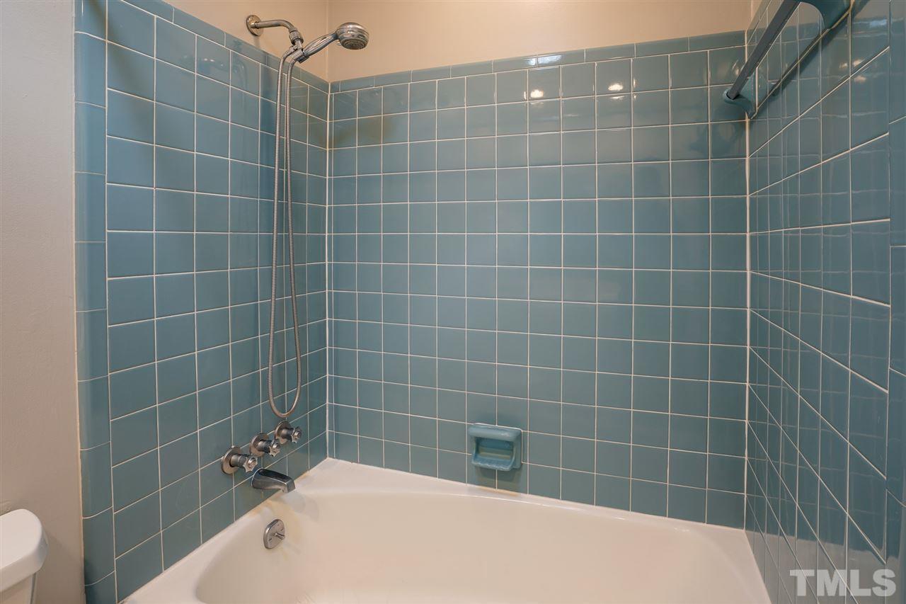 Vintage shower tiles