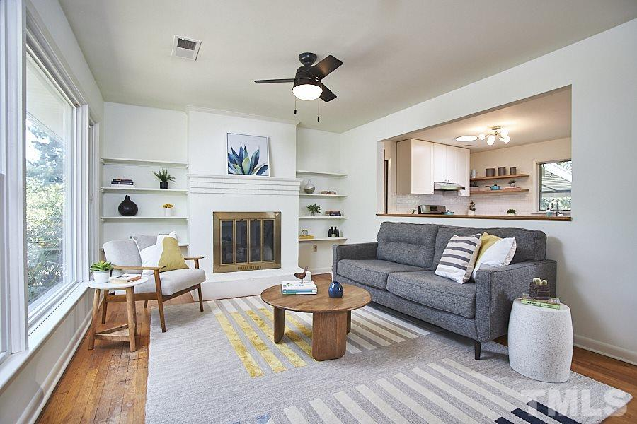 Comfy and styling living room