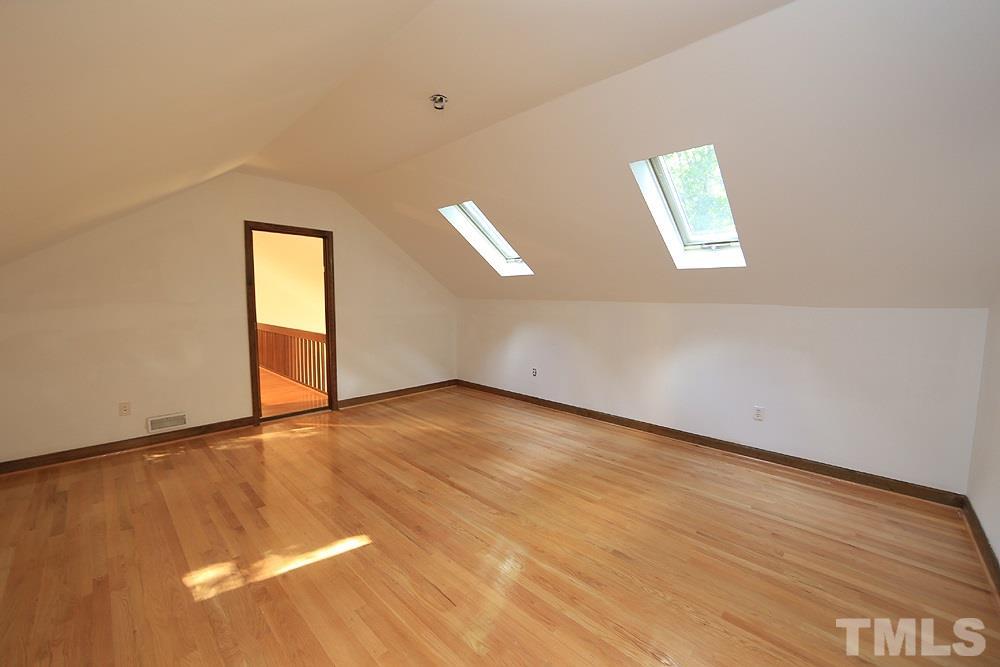 Second floor bonus room/loft