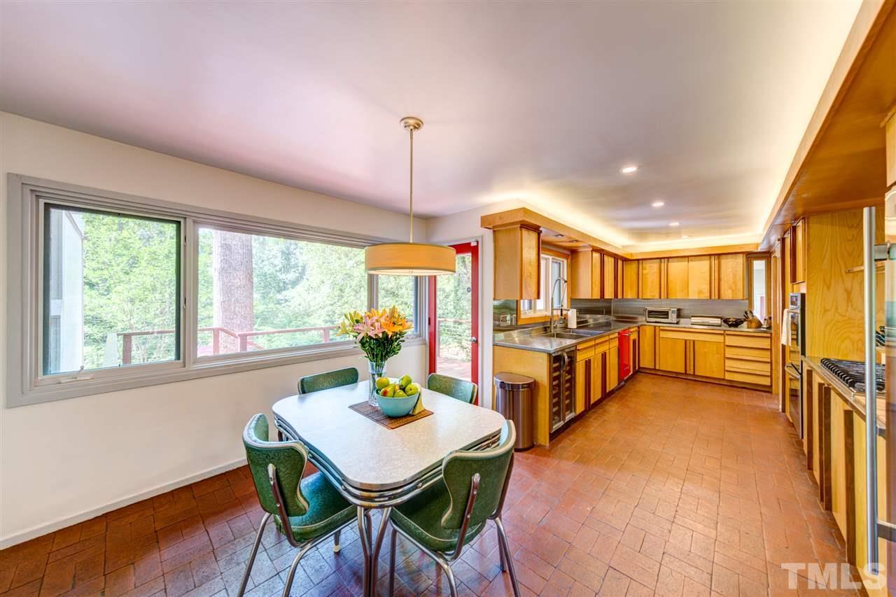 Vinage kitchen with upgrades