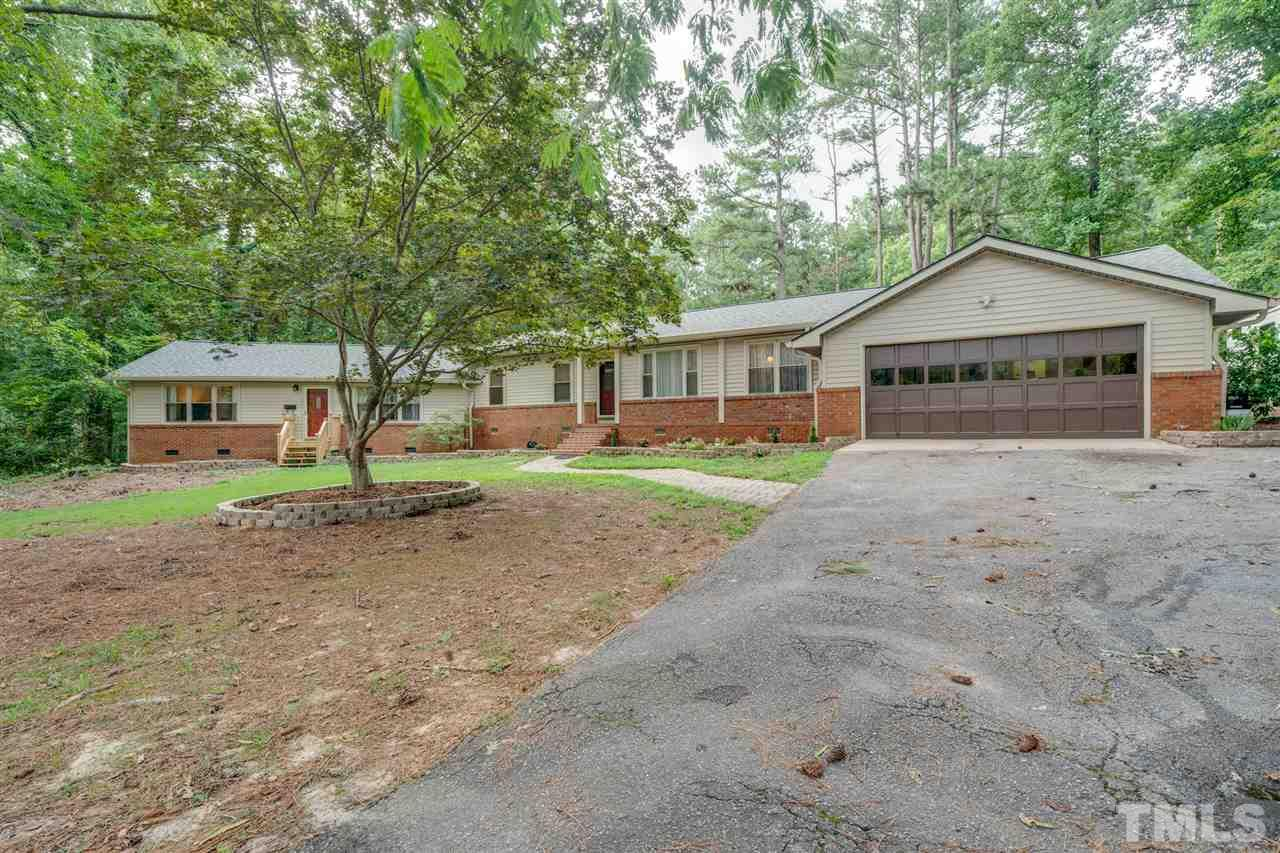 Enjoy the serenity of your own 1.6 acres just 15 minutes from downtown Raleigh!