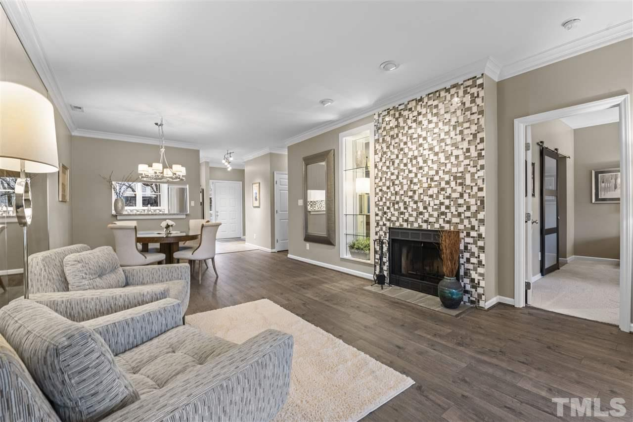 A great shot of the open floorplan with a very natural flow from room to room.