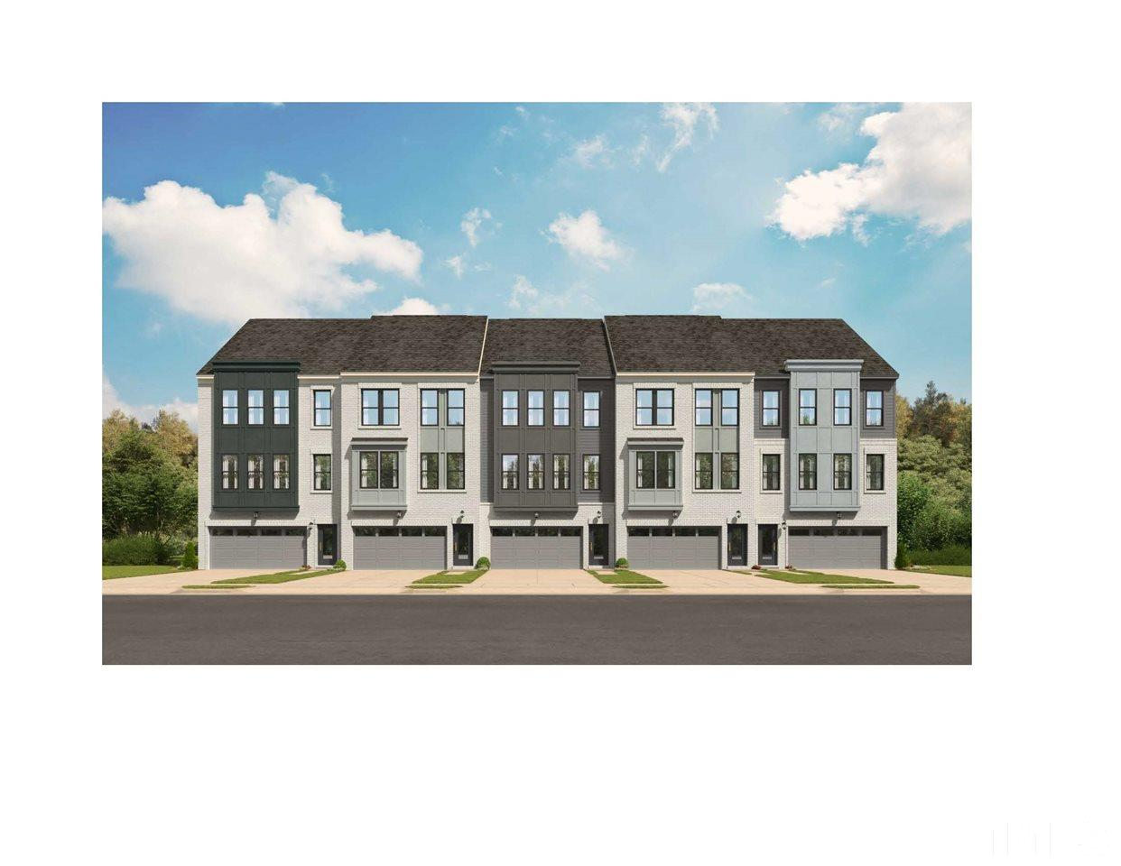 Shown on right side of the building in this rendering