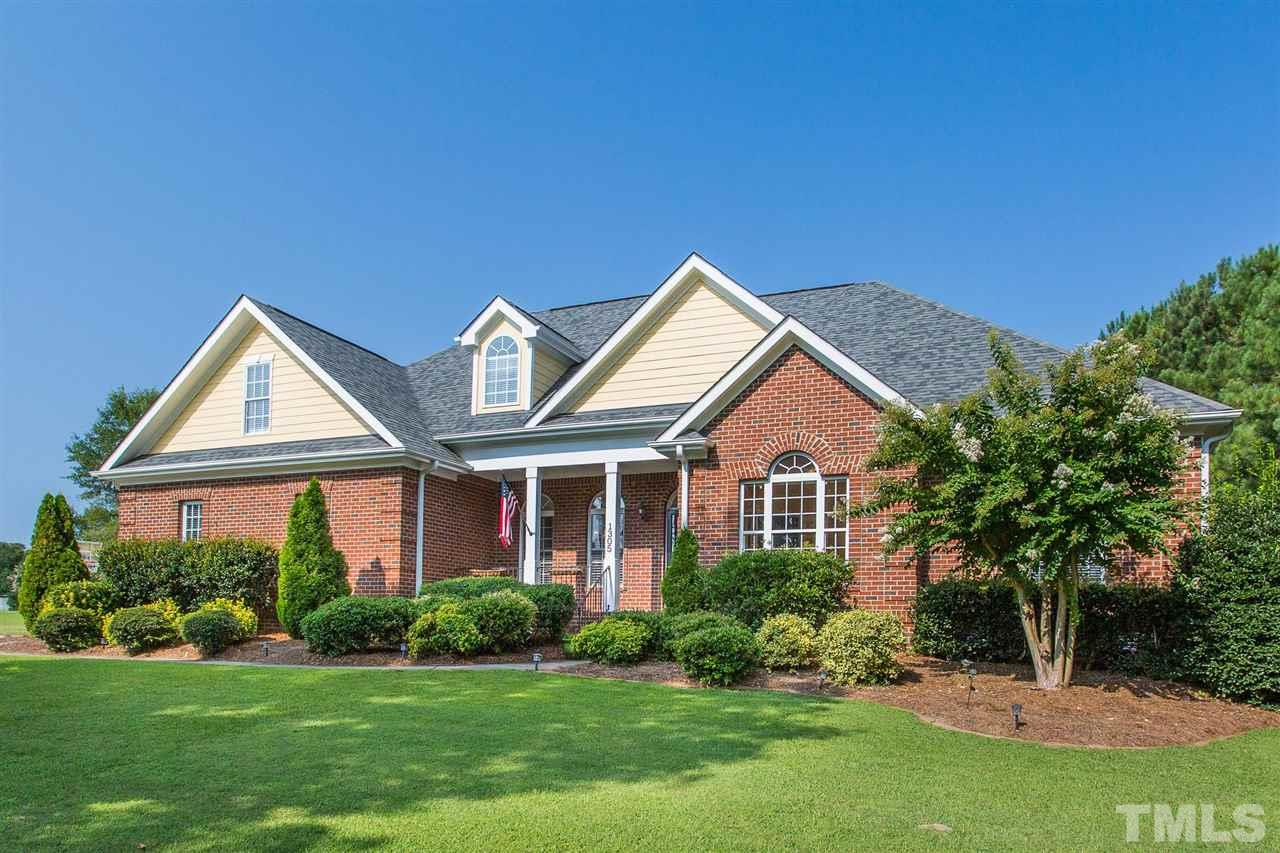 Nestled in Ole Mill Stream this home sits on over an acre lot with 4025 square feet.