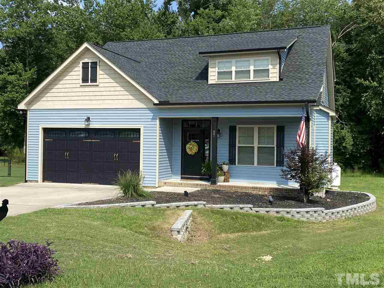 Craftsman Style Home packs alot of space. Home is larger than it looks. Great relaxing porch