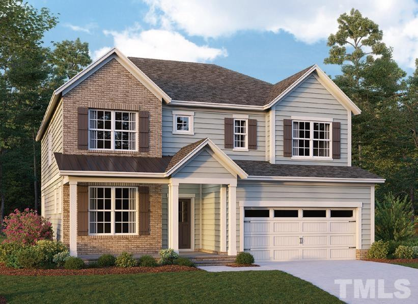 Miller Plan in new Thornebury community in the heart of desirable Morrisville! 5BR/4BA - incl guest ste on 1st floor + 2nd flr bonus. Options include gourmet kitchen w/gas cooktop and wall oven + microwave, upg countertops, upg cabs, laminate plank entire 1st flr + 2nd fl hall, hrdwd stairs, tiled shower in MBA, screened porch, fireplace, and more!  Buyers choose interior colors in design appt!    Adjacent to the Indian Creek Greenway Trailhead. Short walk to the new community library!