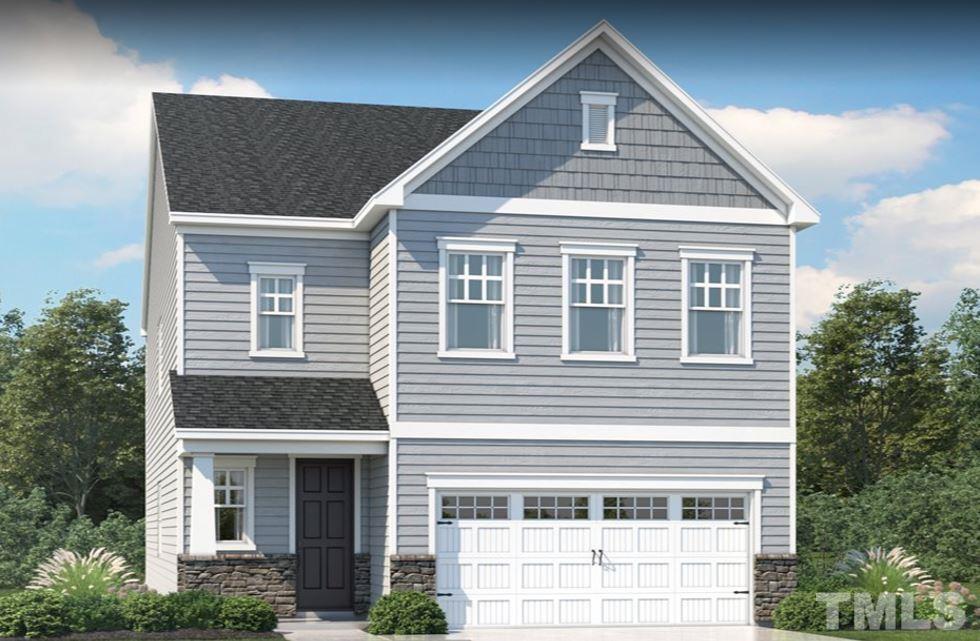 Winstead III B exterior elevation. Exterior color scheme will vary.