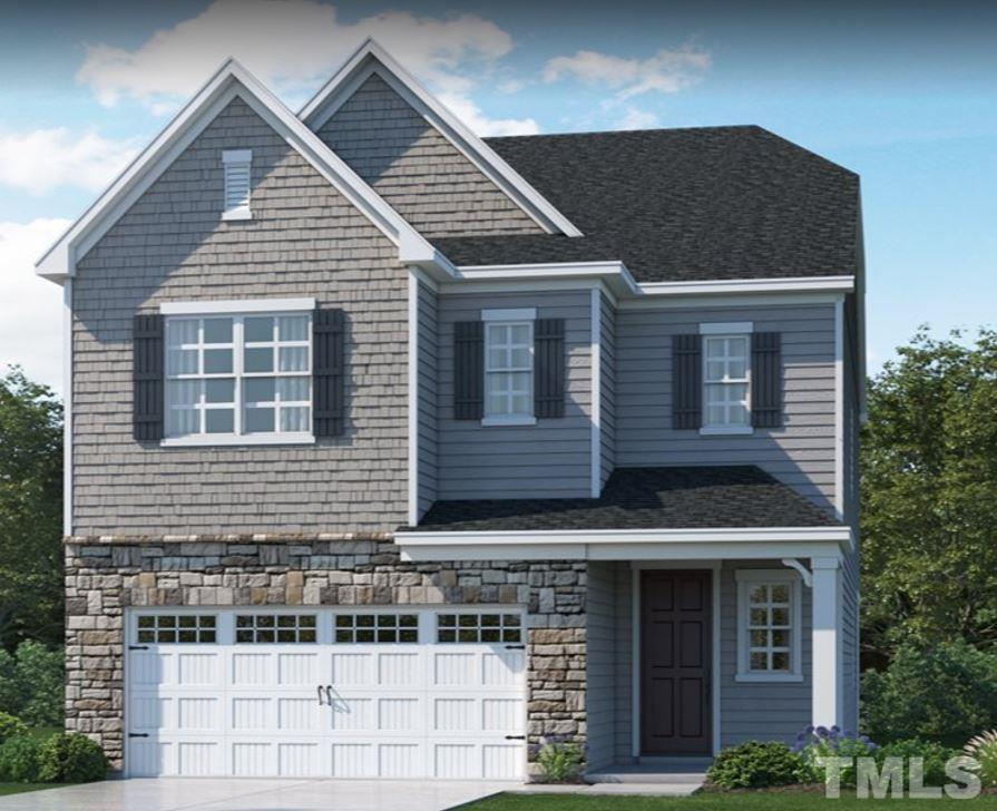 Artist's rendering. Exterior color scheme will vary.